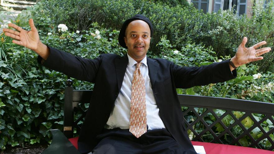 """National Book Awards judges lauded writer James McBride, seen in 2007, for """"a voice as comic and original as any we have heard since Mark Twain."""""""
