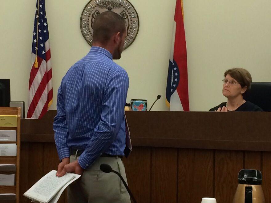 Judge Patricia Riehl presides over Jefferson County Veterans Treatment Court