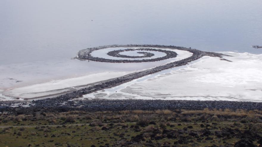 Robert Smithson Spiral Jetty