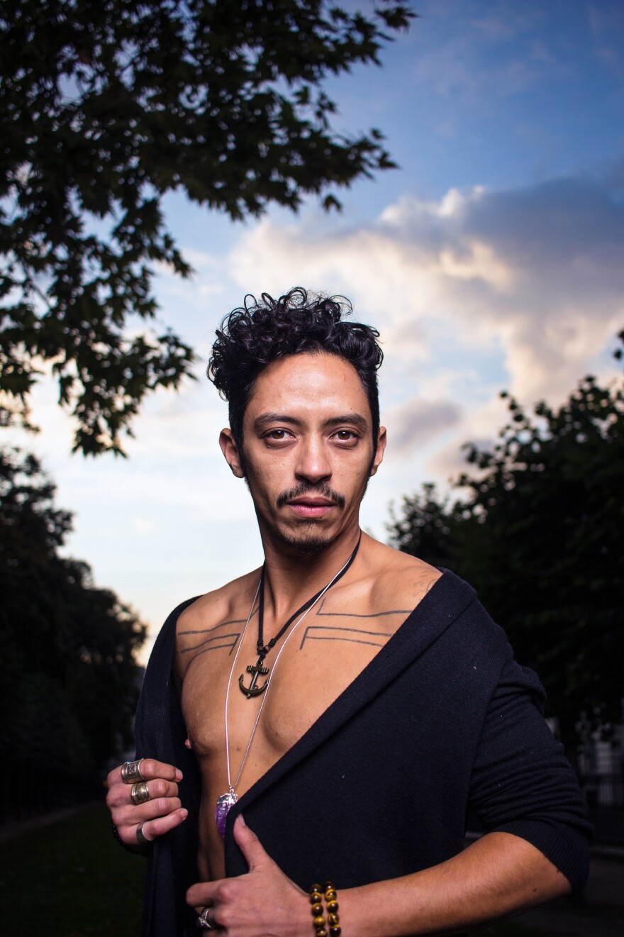 Jihan is a French-born, Algerian trans man living in Belgium. He identifies as Two-Spirit because of the strong masculine and feminine energies within himself. He says he hopes <em>Limitless</em> provides younger generations with the representation they need so they don't feel alone in their identities.