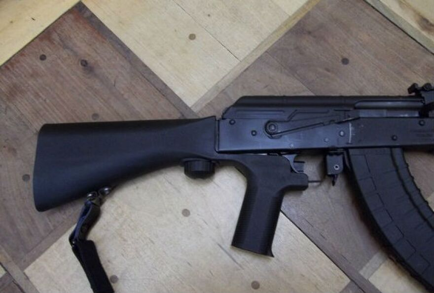 photo of bump stock