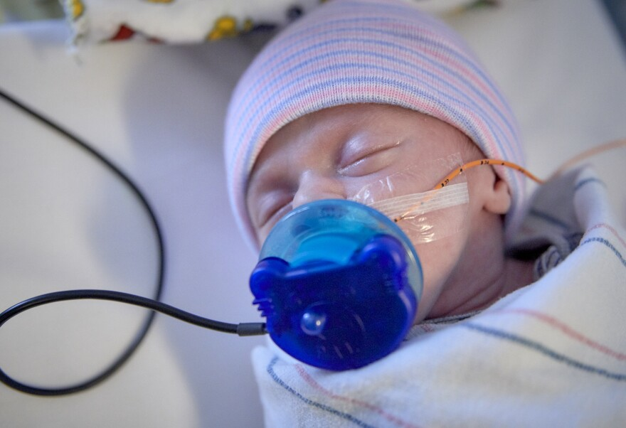 Neonatal Intensive Care Units help keep premature babies alive, but they can also be very stressful environments. Music therapy can help buffer the jarring lights and sounds to help a baby's brain develop in peace.