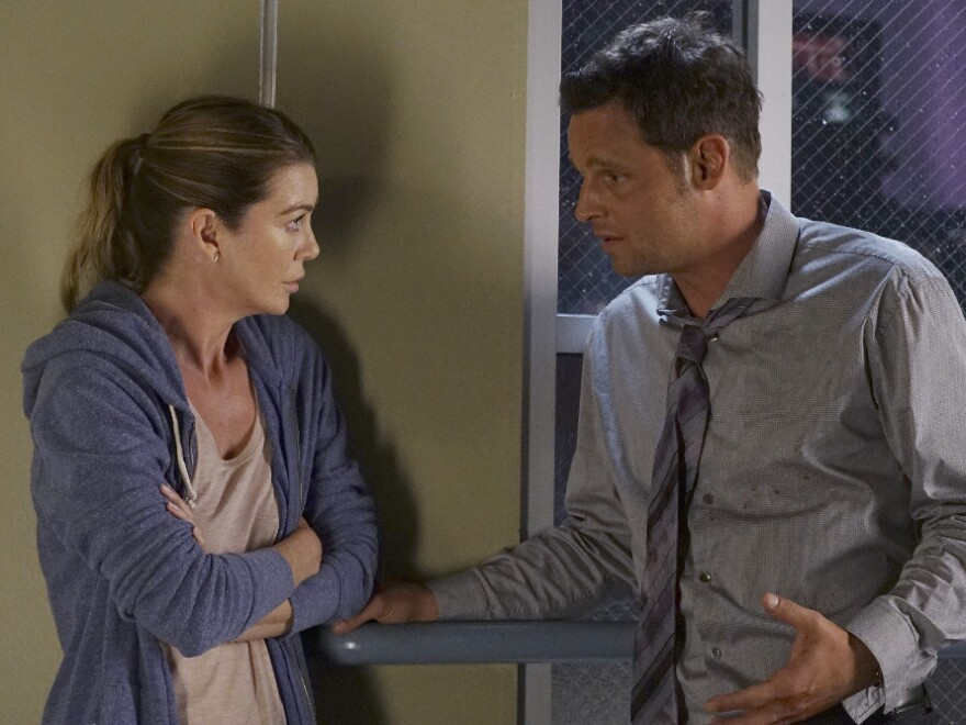 Meredith Grey (Ellen Pompeo) and Alex Karev (Justin Chambers) have been through a lot together across 13 seasons.