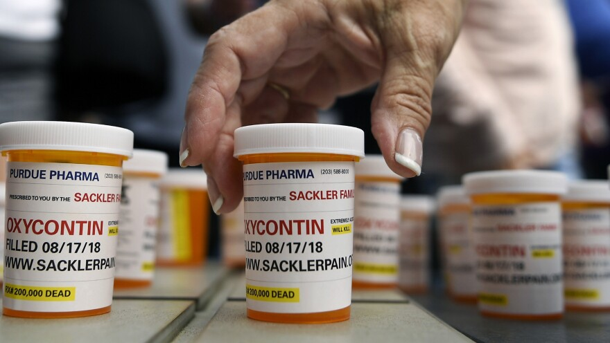 New York on Thursday sued the billionaire Sackler family behind OxyContin, joining a growing list of state and local governments alleging the family's company, Purdue Pharma, sparked the nation's opioid crisis by putting hunger for profits over patient safety.