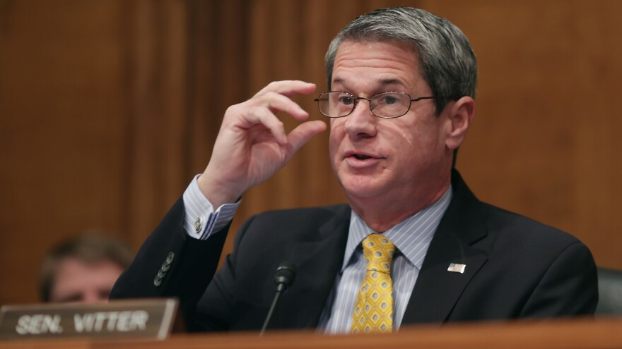 Louisiana voters re-elected David Vitter after he apologized for being involved in a Washington prostitution scandal.