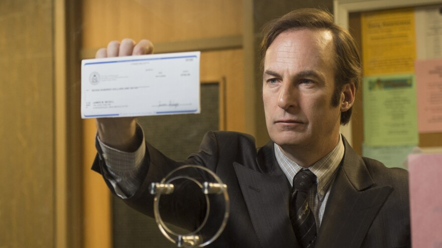 Bob Odenkirk as Saul Goodman in AMC's <em>Breaking Bad</em> spinoff <em>Better Call Saul</em>.