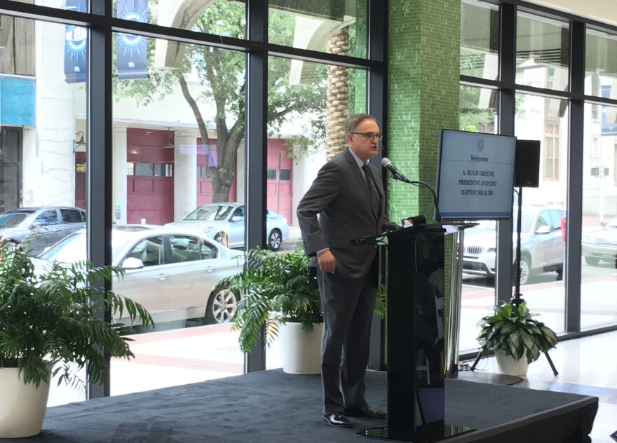 Baptist Health CEO Hugh Greene said the community has some work to do when it comes to mental health and access to care, Thursday afternoon.