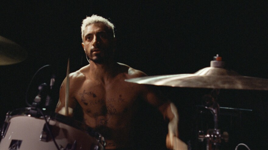 Riz Ahmed plays plays a drummer who goes deaf in <em>Sound of Metal.</em>