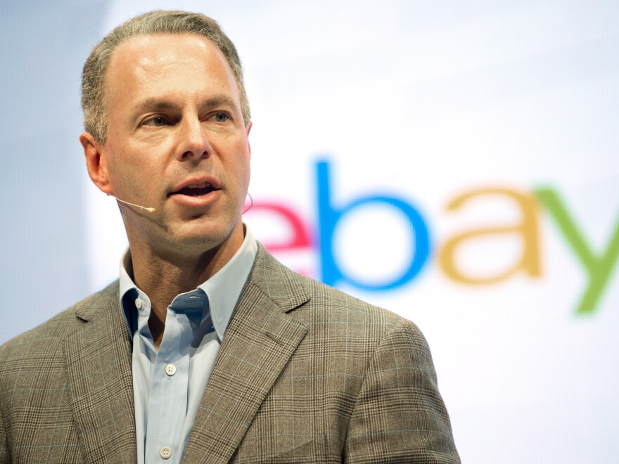 Chief executive Devin Wenig is leaving eBay amid the online shopping company's corporate overhaul.