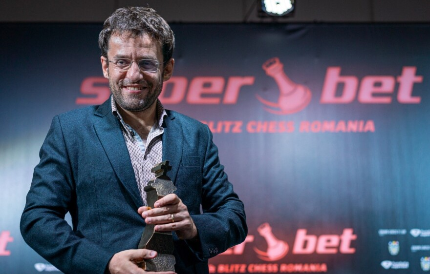 Grandmaster Levon Aronian of Armenia won the 2019 Superbet Rapid & Blitz Tournament in November.