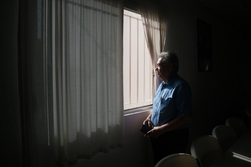 Juan Antonio Sierra Vargas has been a volunteer at La Casa del Migrante for almost a decade.