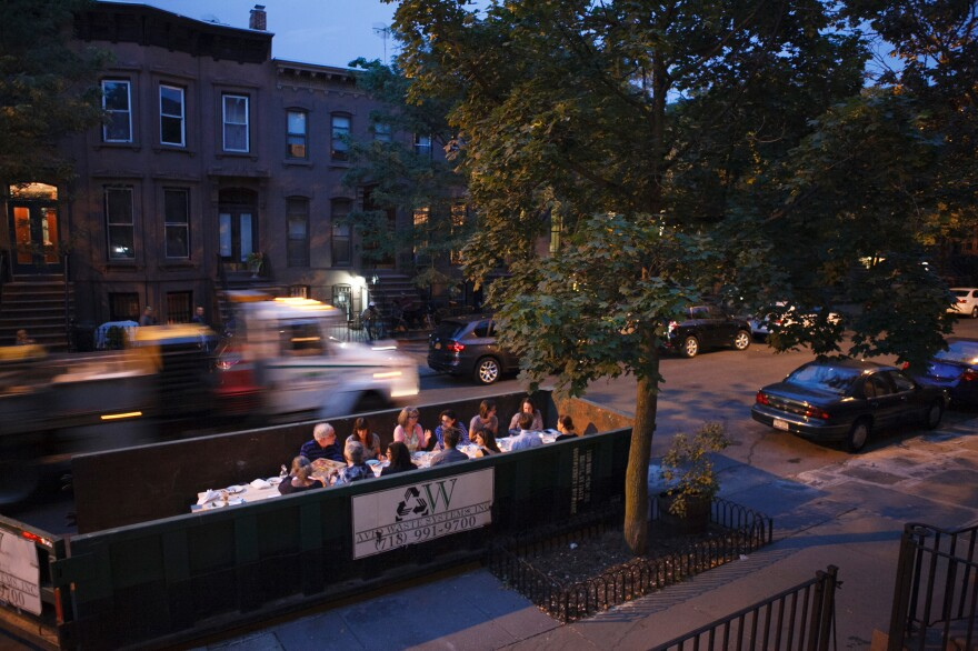 The Salvage Supperclub hosts dinners in clean, tastefully decked out dumpsters. The menus highlight ingredients frequently tossed out by home cooks – think wilted basil or bruised plums — that could be put to tastier uses.