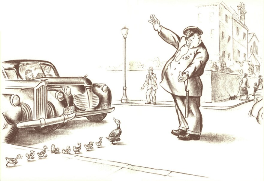 Robert McCloskey was still a young artist when he brought a crate of ducks back to his studio apartment to do some sketches. Since then, the plucky Mallard family (Jack, Lack, Mack, et al.) has charmed its way into our hearts.