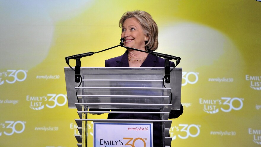 """Don't you someday want to see a woman president of the United States of America?"" Hillary Clinton asked at the EMILY's List gala earlier this month."