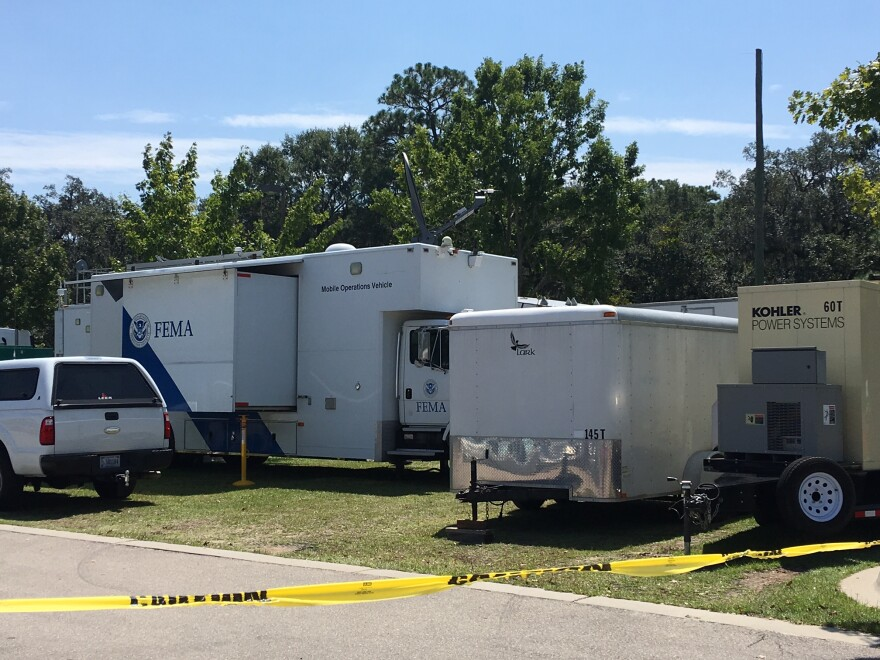 Federal emergency managers (FEMA) are staging in Tallahassee.