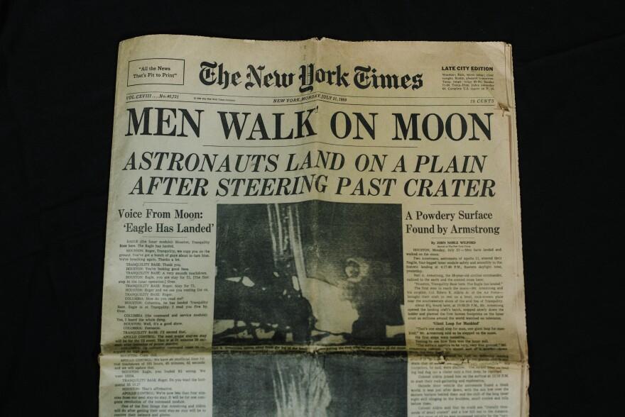 Photo of newspaper.