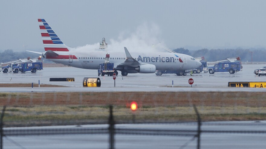 "Cleared for takeoff: That's the message from the ""new"" American Airlines, after a bankruptcy judge ruled it could finalize its merger with US Airways Wednesday."