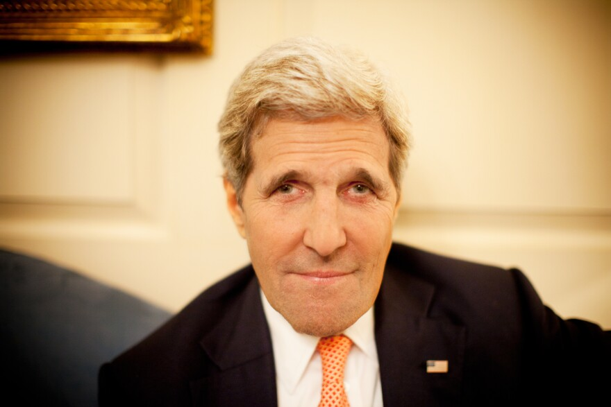 Secretary of State John Kerry spoke with NPR's Steve Inskeep at the State Department. Kerry said if Congress or a future president reverses a nuclear control agreement with Iran, U.S. credibility will suffer.