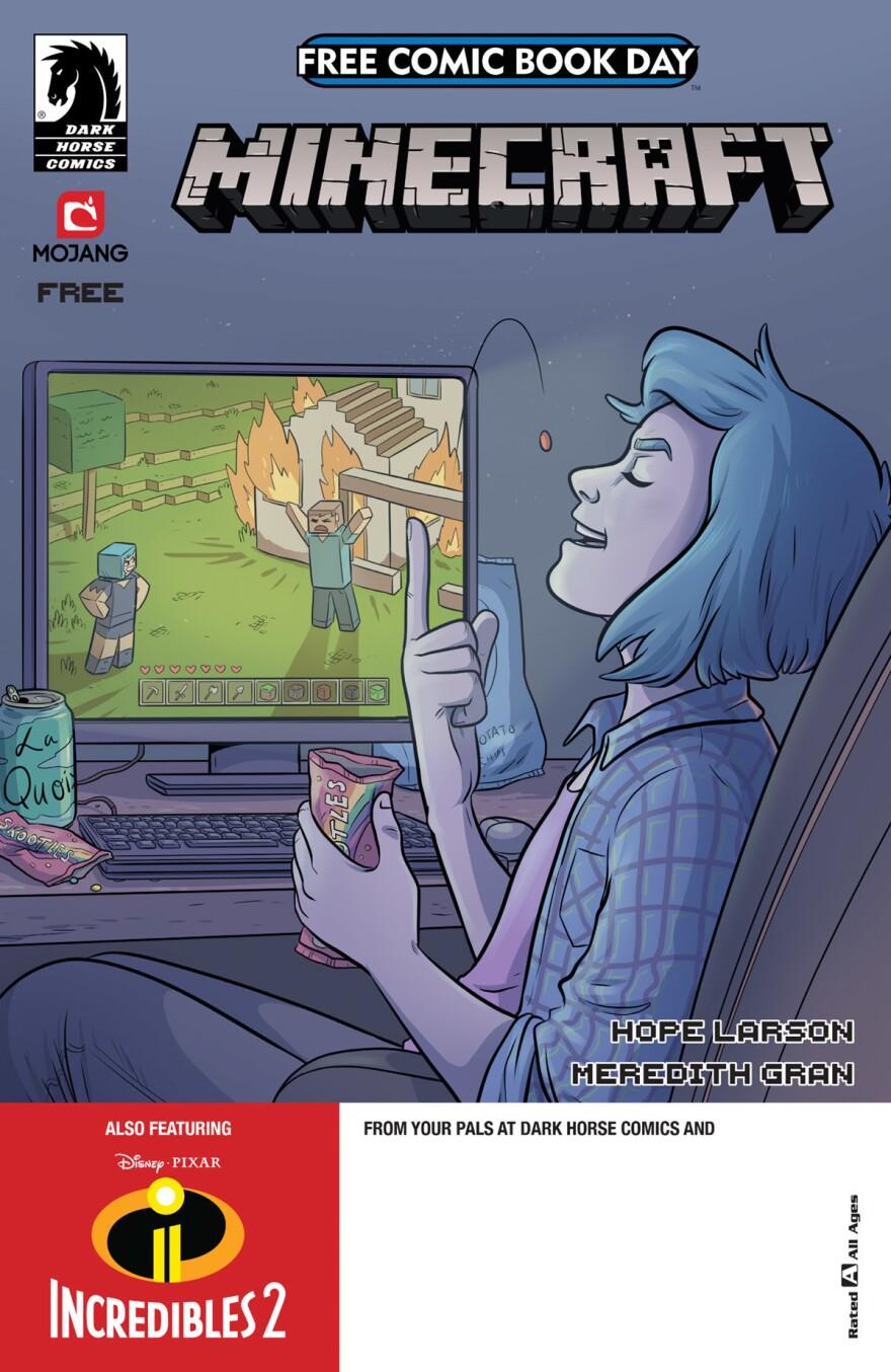 <em>Minecraft/The Incredibles</em>
