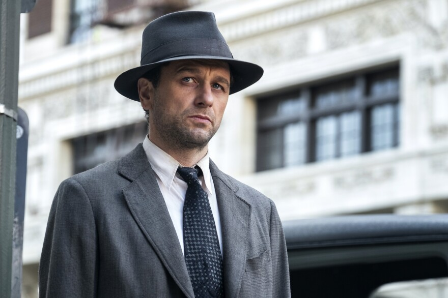 "Matthew Rhys plays <em></em>Perry Mason in the new HBO reboot of the legal drama based on Erle Stanley Gardner's detective stories. ""To my mind, he makes a good private investigator because he doesn't fit in in any way,"" Rhys says."