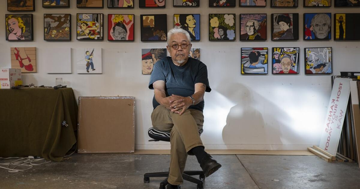 www.kcur.org: Roger Shimomura Is 81 Years Old. His Takedown Of Anti-Asian Stereotypes Is Timelier Than Ever