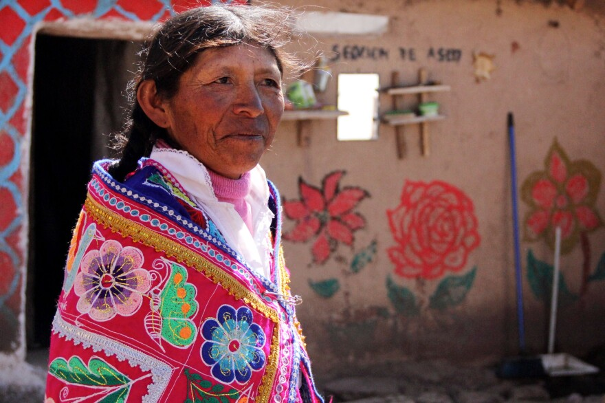 More than 1 million people in Peru earn less than the equivalent of about $450 each year.