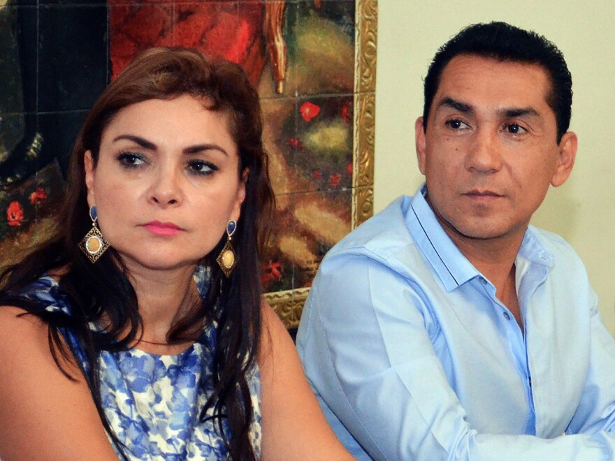 Iguala Mayor Jose Luis Abarca and wife Maria de los Angeles Pineda, shown in a photo taken in May, are both wanted for questioning.