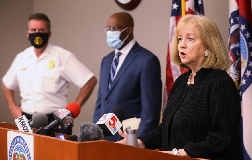 St. Louis Mayor Lyda Krewson on June 2, 2020