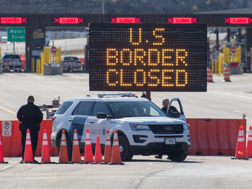 The COVID19 outbreak has brought many unprecedented developments, including this: The U.S. closed the 8,000 miles of border it shares with Mexico and Canada to non-essential traffic.