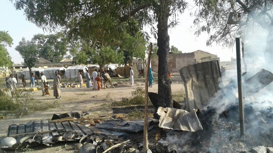 A bombing by the Nigerian air force has occurred in an internally displaced person camps in Rann, Nigeria.