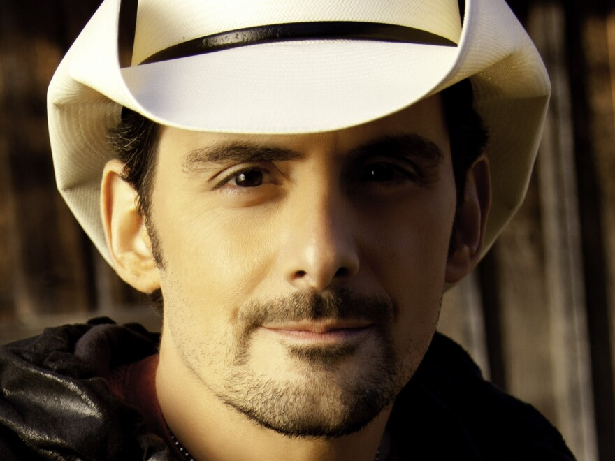 Country-music superstar Brad Paisley has had 32 singles hit the <em>Billboard</em> country charts.