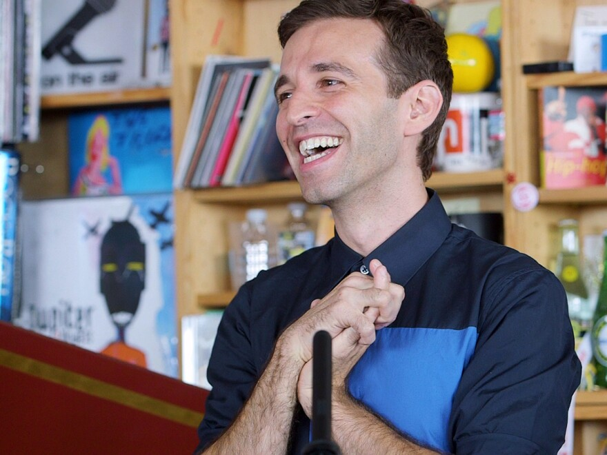 Anthony Roth Costanzo takes opera to unlikely places, including NPR Music's Tiny Desk.