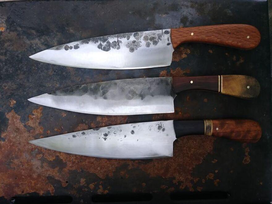 Jared Lees' knives