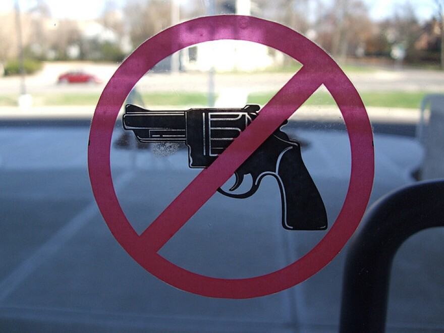 Florida League of Women Voters urge to ban guns on college campuses.