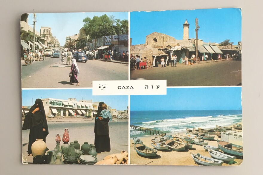 This vintage postcard is a relic from a different time. It was printed by the Israeli postcard company Palphot in 1967.
