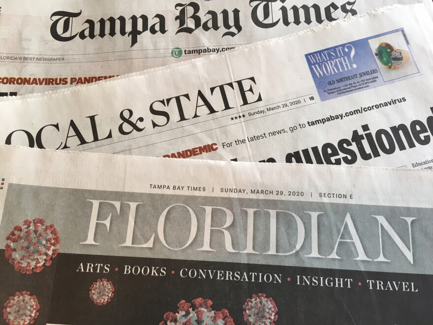 Tampa Bay Times sections
