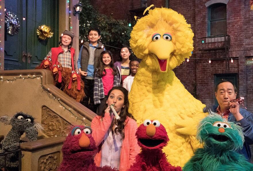 Big Bird, Elmo and stars of Sesame Street are leaving their quiet neighborhood and hitting the road.