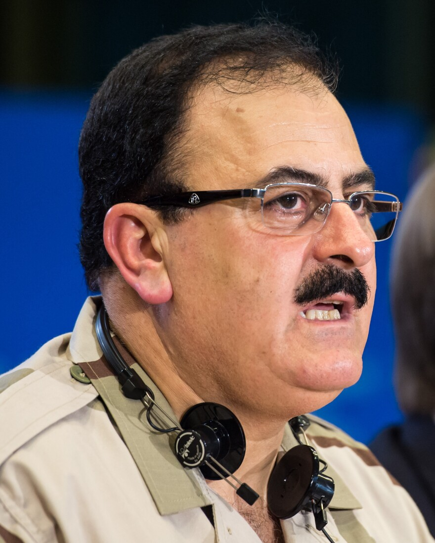 Brig. Gen. Salim Idris says the Free Syrian Army would not share U.S.-provided weapons with extremist groups.