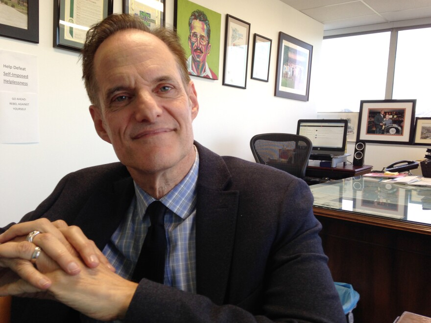 Michael Weinstein is president of the AIDS Healthcare Foundation and a longtime maverick in gay activist circles.