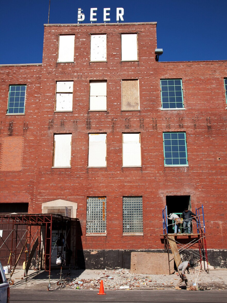 The Plant is housed in a 93,500-square-foot former meatpacking facility in Chicago's Back of the Yards neighborhood.
