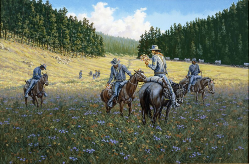 New Book Showcases Artist Dave Paulley's Wyoming Paintings, Celebrates History, Centennial