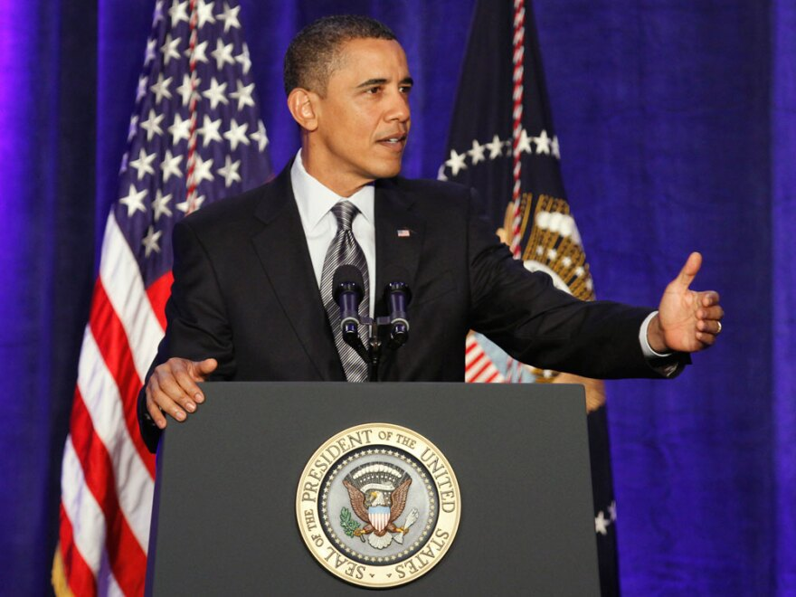 Many bloggers and social media activists at the Netroots Nation Convention say they have become disenchanted with President Obama's administration.