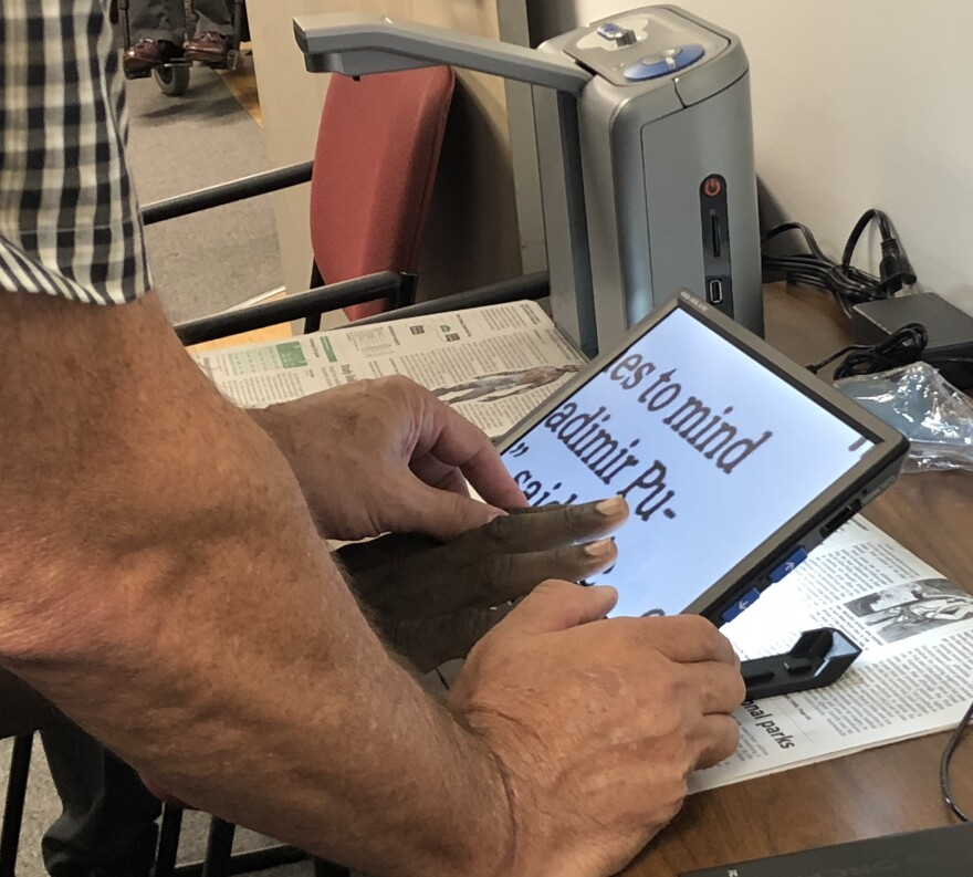 Community members test new technology