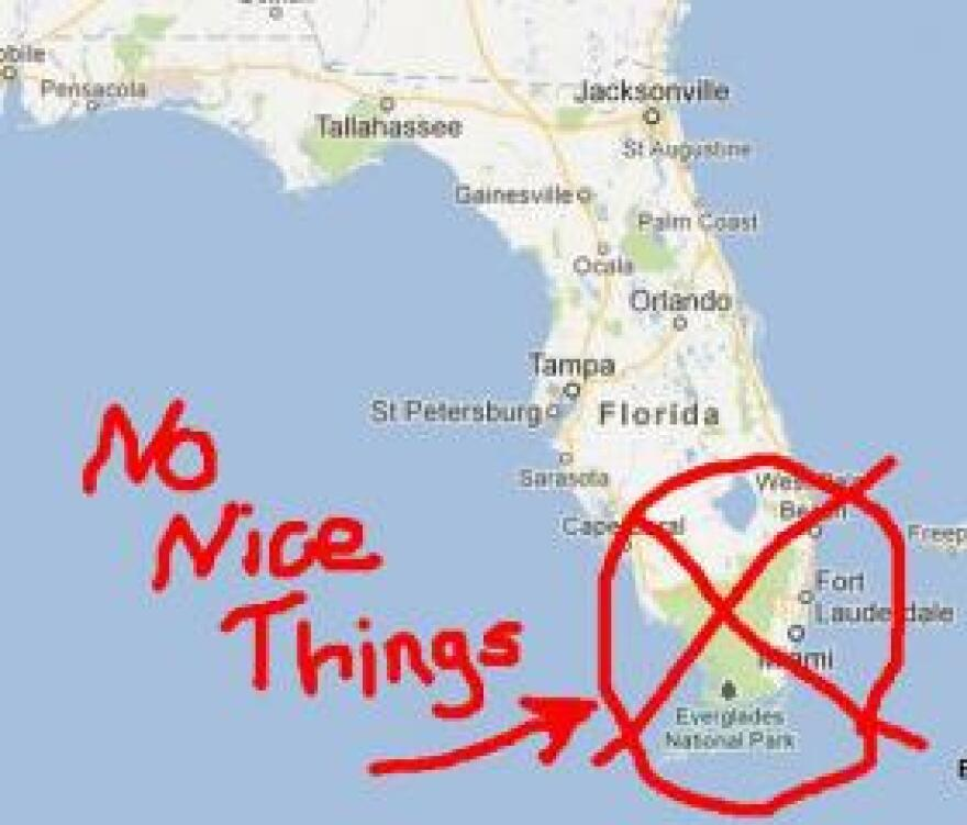 Florida ranks as one of the worst states for gerrymandering.