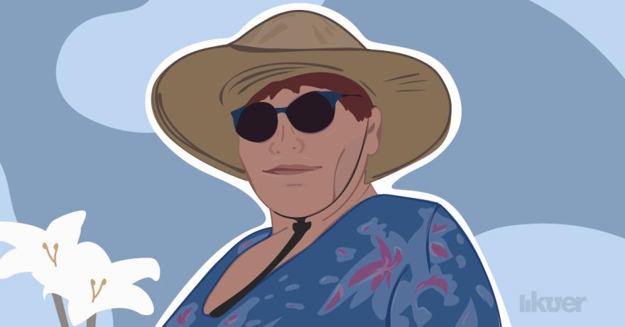 An illustration of Marnie Miller Blevins.