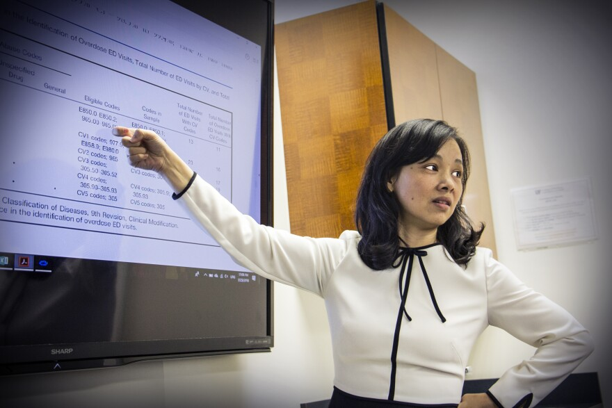 Yu-Jung Wei, an assistant professor in the UF College of Pharmacy, led a study published in the Journal of the American Medical Association that questions the accuracy of CMS' criteria for flagging patients at risk of opioid abuse and overdose.