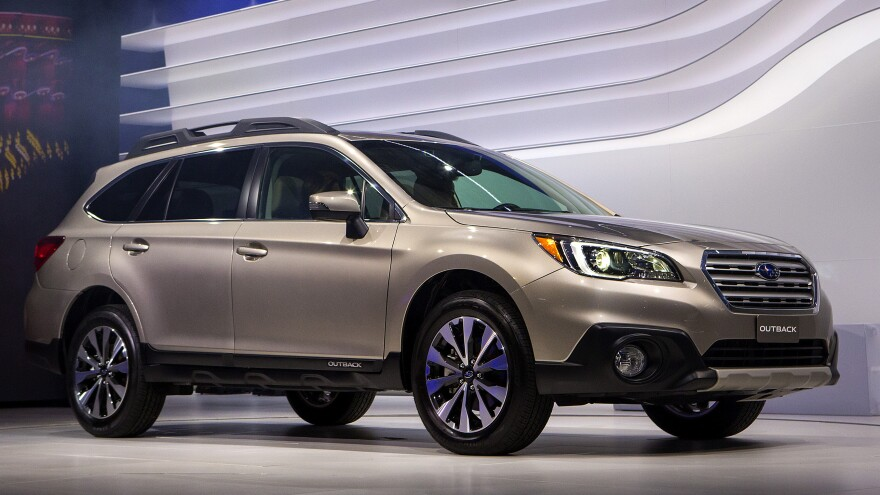 The 2015 Subaru Outback was one of the carmaker's seven models that won the highest safety ratings from the Insurance Institute for Highway Safety.