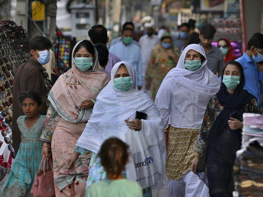 Pakistan has seen the number of coronavirus infections skyrocket in recent days after the government relaxed a lockdown, citing economic necessity.