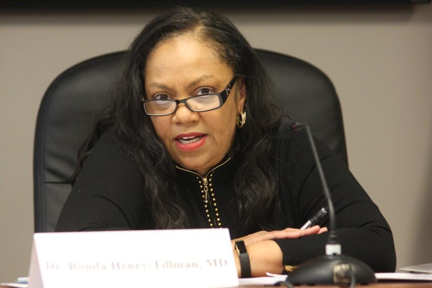 Dr. Ronda Henry-Tillman chairs the Medical Marijuana Commission.