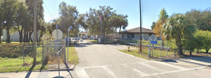 Exterior of Oldsmar Water Plant